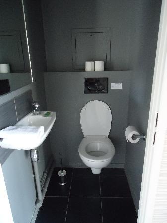 Adagio City Aparthotel Montrouge: Toilet