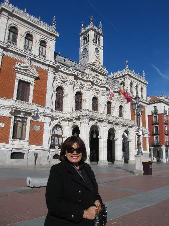 Plaza Mayor de Valladolid: edifico en la Plaza Mayor