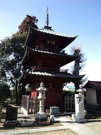Three-story Pagoda at Jojuin Temple