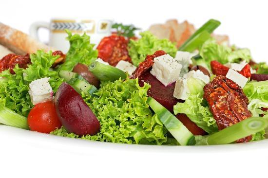 Jaipur Baking Company: fresh salad