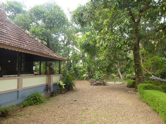 The Pamba Heritage Villa: le stanze e il giardino