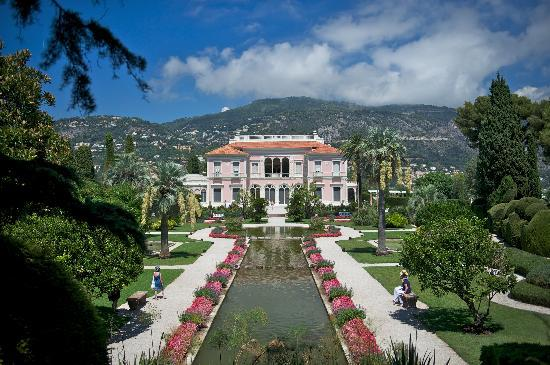 Villa ephrussi de rothschild 3 picture of villa for Jardin villa rothschild