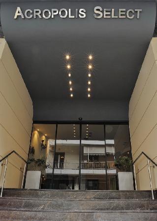Ξενοδοχείο Acropolis Select: Entrance