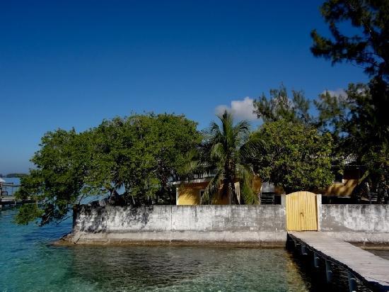 Utila Cays: Protective walls