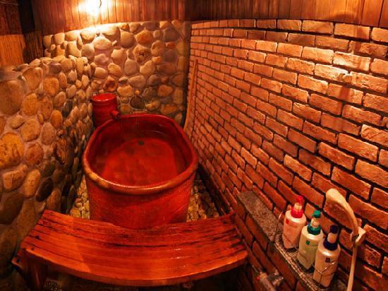 Gero Onsen Fugaku: 源泉かけ流し貸切温泉
