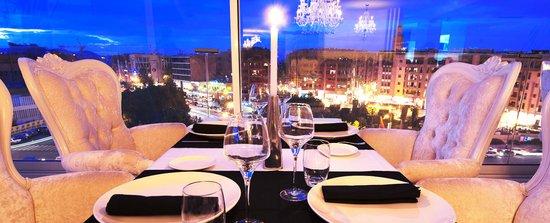 D.sens: Vue Panoramique restaurant