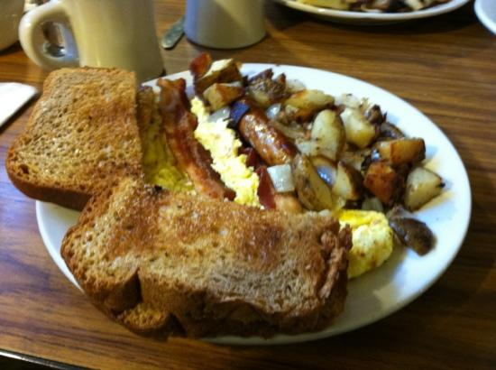 Galley Restaurant: big galley breakfast