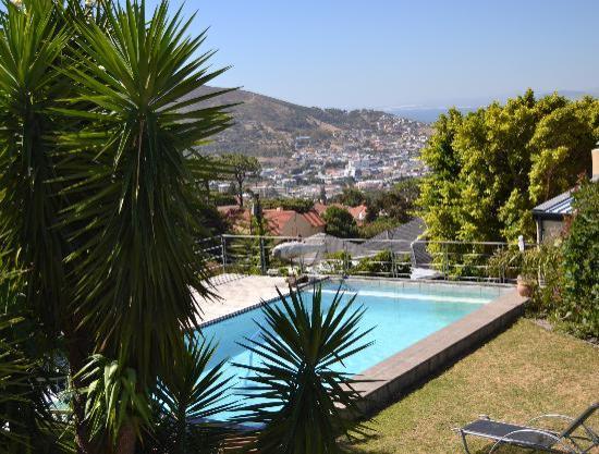 Blue Sky B&B: Blick auf Kapstadt