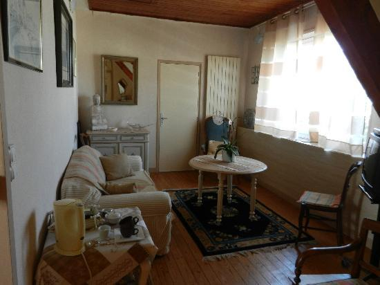 Villa Saint Corentin : Aufenthaltsraum
