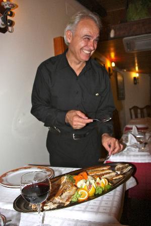 Ristorante Mamma Rosa: Nice display of the seafood
