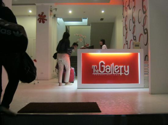 ‪‪The Gallery Hotel‬: The reception‬