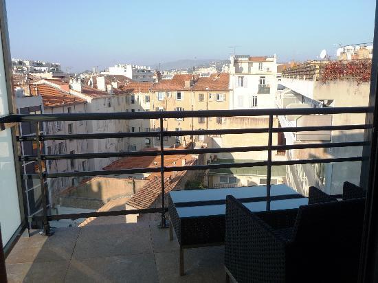 Eden Hotel & Spa: Balcon ch.superieur 7em étage