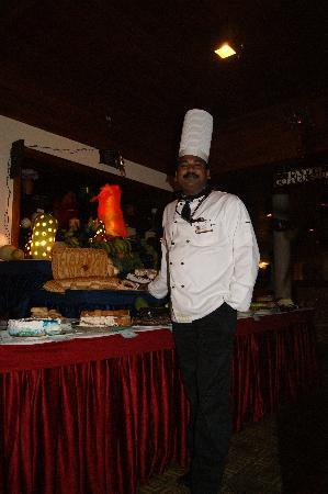 The Elephant Court Thekkady: Der Chefkoch Aniyan Kunju!