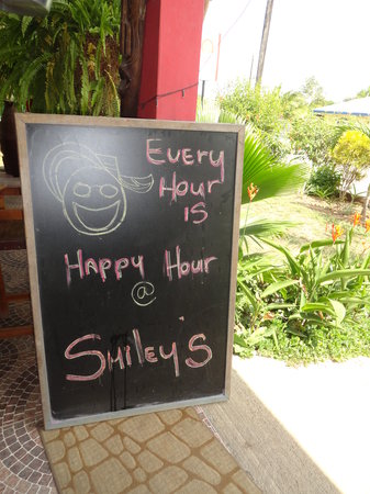 Restaurante Smiley's : seriously