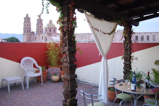 Casa Castillo: The terrace