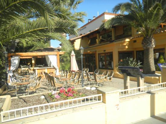 Hotel Ceferino: Terrace