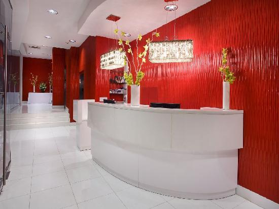 The MAve Hotel: MAve front desk