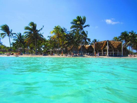 beach view from resort picture of sol cayo coco cayo coco tripadvisor. Black Bedroom Furniture Sets. Home Design Ideas