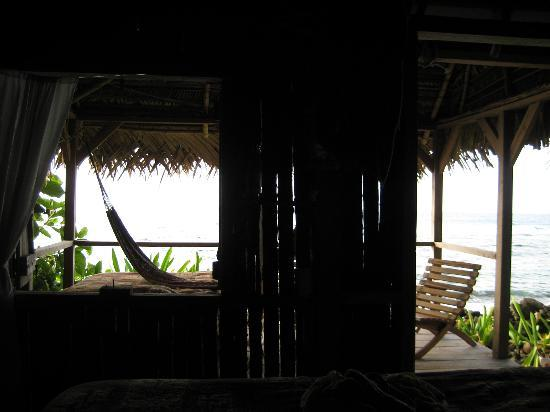 Off The Wall Dive Center & Resort: View from our Sleeping Hut
