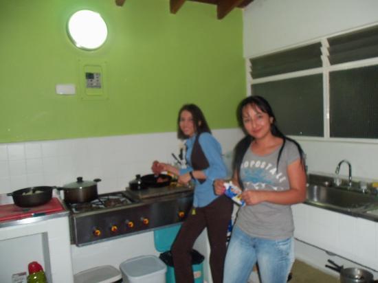 Saman Hostel Medellin: noel 2011