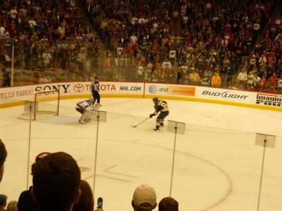 Saint Paul, MN: Penalty shot!