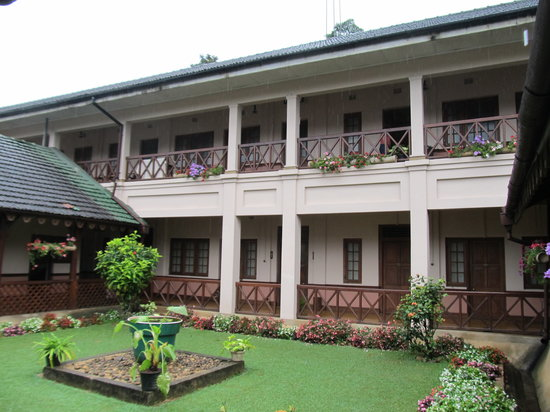 Bandarawela Hotel: Rooms from the courtyard