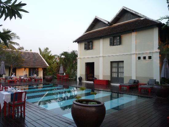Villa Maly: Pool area
