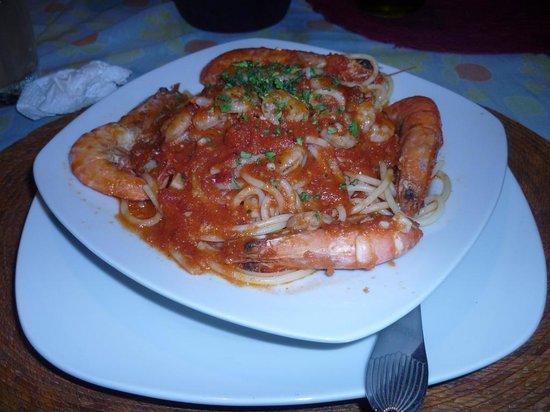 Rigoletto Restaurant: camarones 2