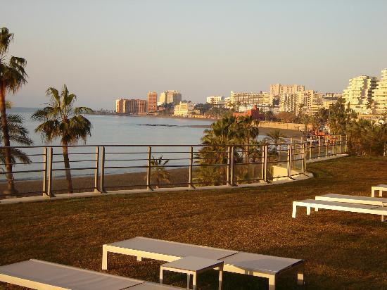 Vincci Seleccion Aleysa Hotel Boutique & Spa: View of the Garden from our Balcony