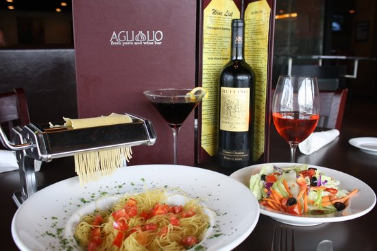 Agliolio Fresh Pasta and Wine Bar: Welcome to Momma Donna's Kitchen!