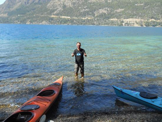 Cuadrante Sur Kayak Bariloche: La llegada!!