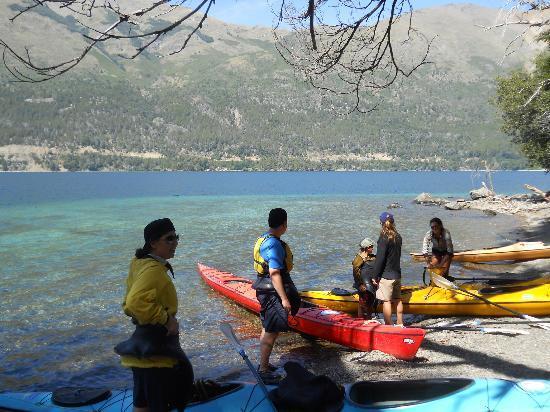 Cuadrante Sur Kayak Bariloche: El grupo!!