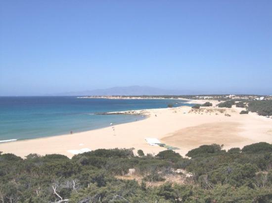 Hotel Villa Adriana: spiaggia a sud...