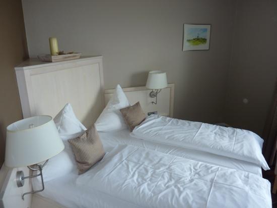 Hotel Ankers Hörn Langeneß : Hotelzimmer im EG