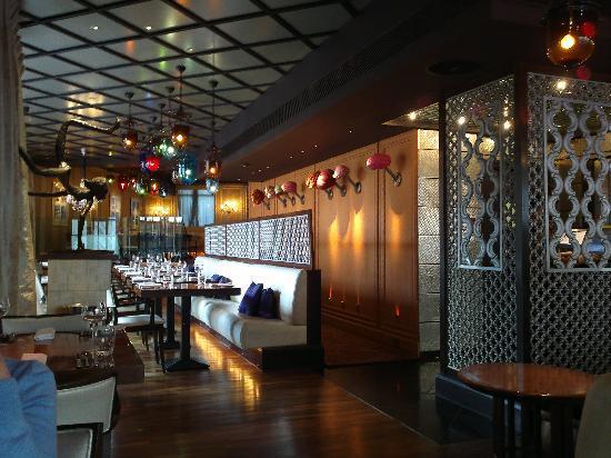 Restaurant interior picture of veeraswamy london