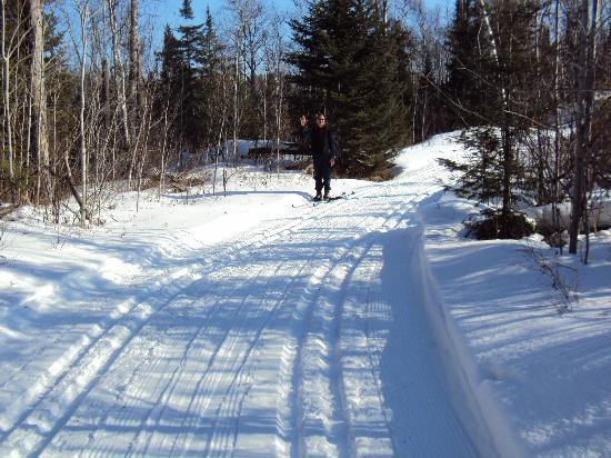 Bearskin Lodge : Beautiful trails!