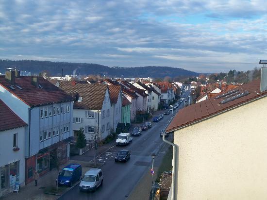 Hotel Zeller Zehnt: landscape from the room