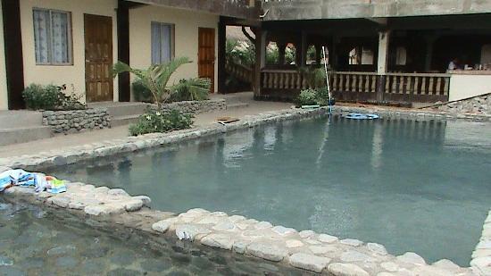 White Castle Beach Resort : newly made swimmingpool