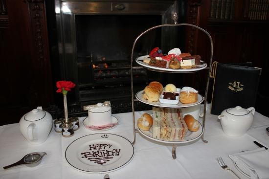 Hotel 41: Afternoon Tea For Two