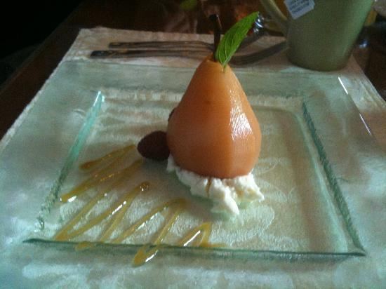 The William Henry Miller Inn: Pre-breakfast Pear