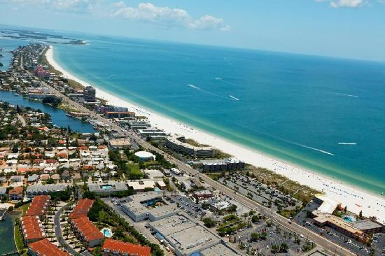 St. Pete Beach offers accommodations ranging from world-renowned resort to mom-and-pop motels, t