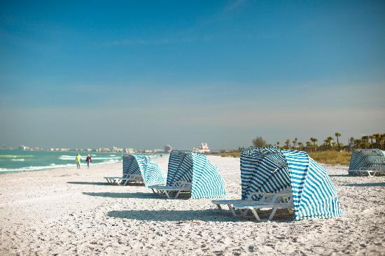 Relax and unwind on the white sandy beaches of St. Pete Beach.