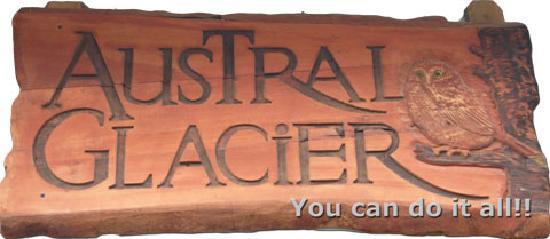Austral Glacier Hostel: Austral Glacier Logo