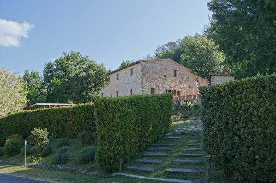 L'Antico Forziere: View of the building from the carpark