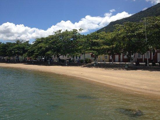 Ribeirao da Ilha: foto tirada do restaurante Ostradamus