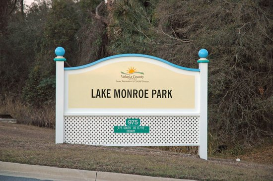 DeBary, FL: Entrance Sign
