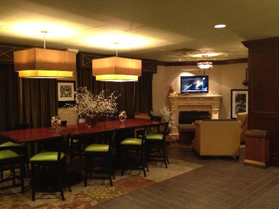 Hampton Inn & Suites Hartford/Farmington: The lobby