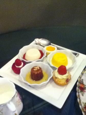 Adonia: desserts - part of the high tea package