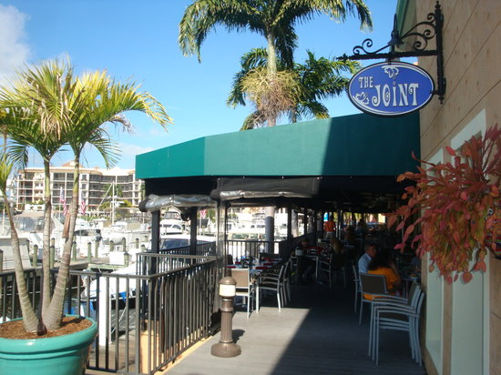 View Of The Patio Picture Of Fathoms Restaurant Bar