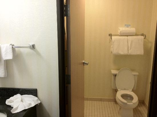 Fairfield Inn Kansas City Airport: Bathroom